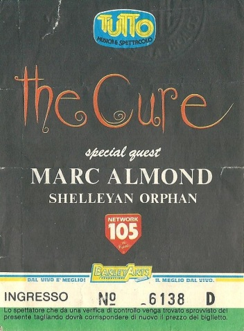 The Cure with Marc Almond