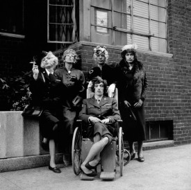 The Rolling Stones-Standing in the Sh1*1966-272-002-022 Manhattan, New York, USA 1966 Allen Klein has this negative