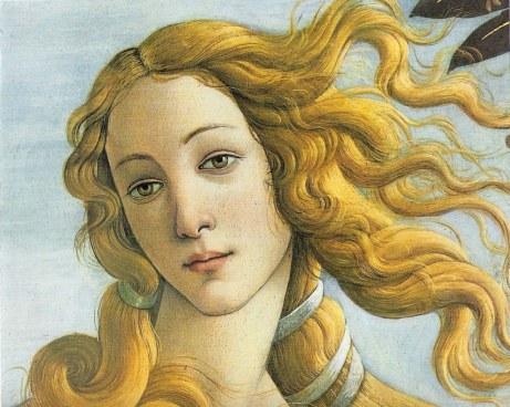 La venere del Botticelli