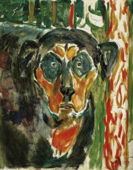 Head Of A Dog 1930
