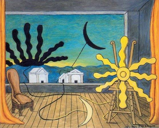 Sole sul cavalletto 1973
