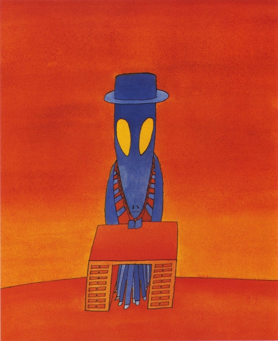 1973, illus. for Kafka's Metamorphosis (2)