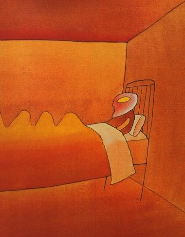 1973, illus. for Kafka's Metamorphosis (3)