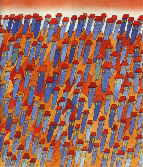 1973, illus. for Kafka's Metamorphosis (5)