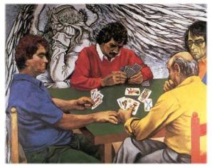 Giocatori di scopone