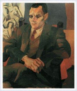 Ritratto di Alberto Moravia