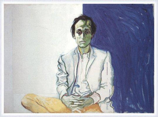 Mario Schifano visto da Guttuso